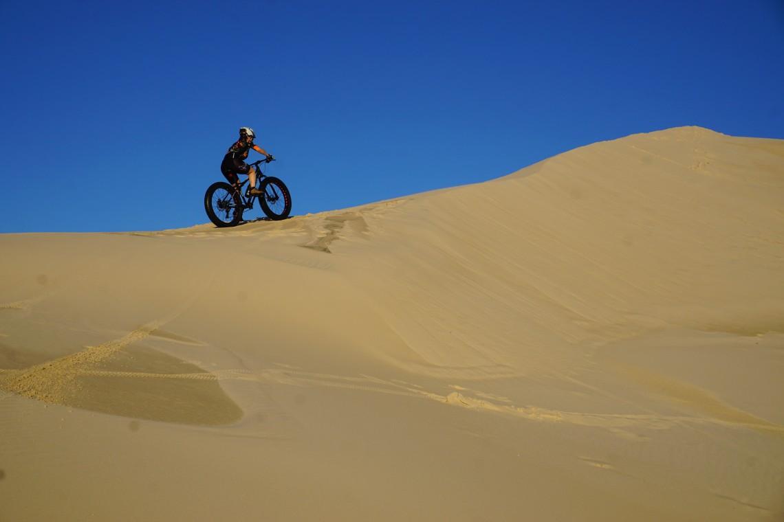 Subindo uma duna