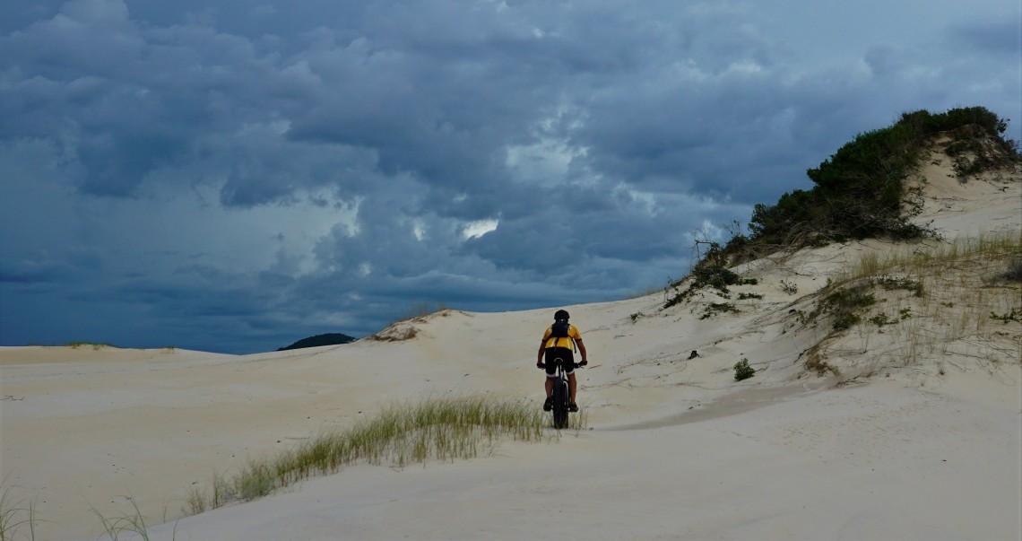 Parte sul das dunas