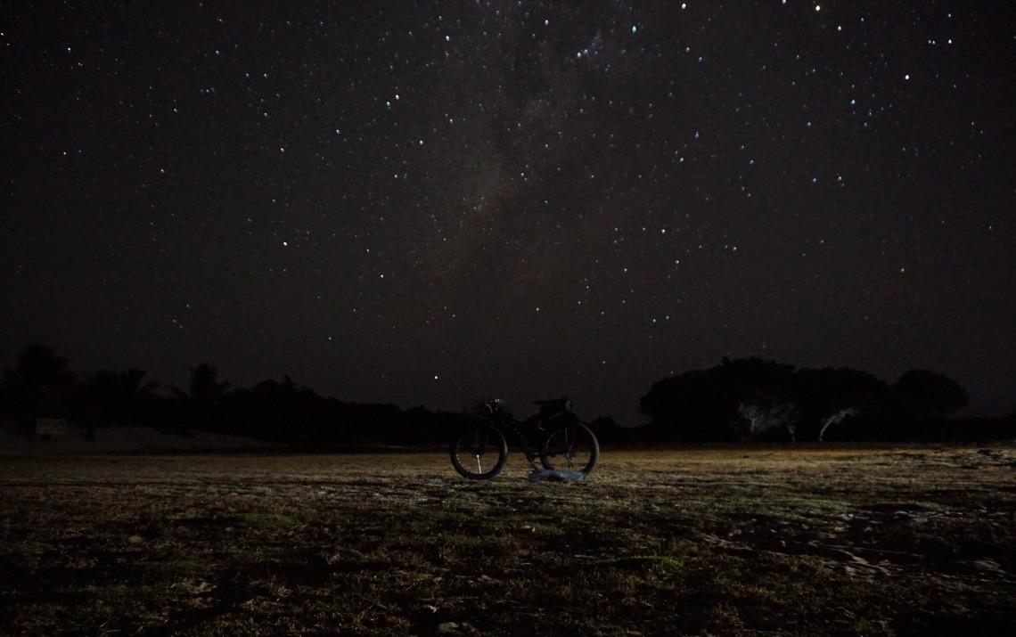 Uma noite de lua nova nos Lençóis Maranhenses
