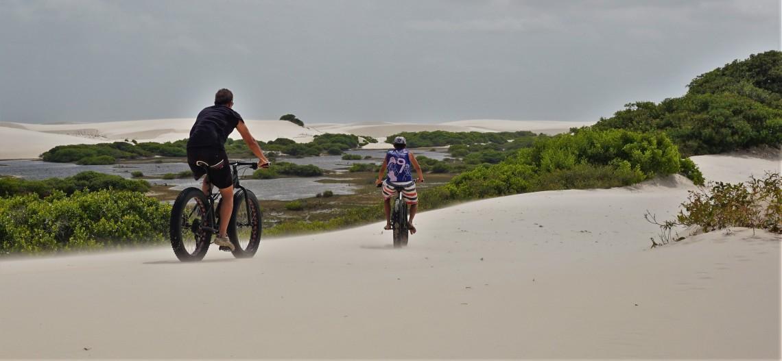 Fat bike na Baixa Grande